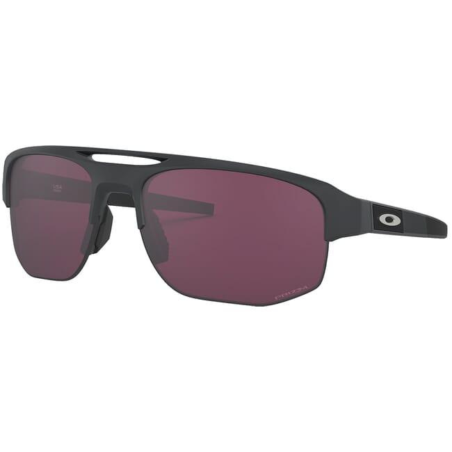 Oakley Mercenary Matte Carbon w/PRIZM Road Black Lenses OO9424-1570