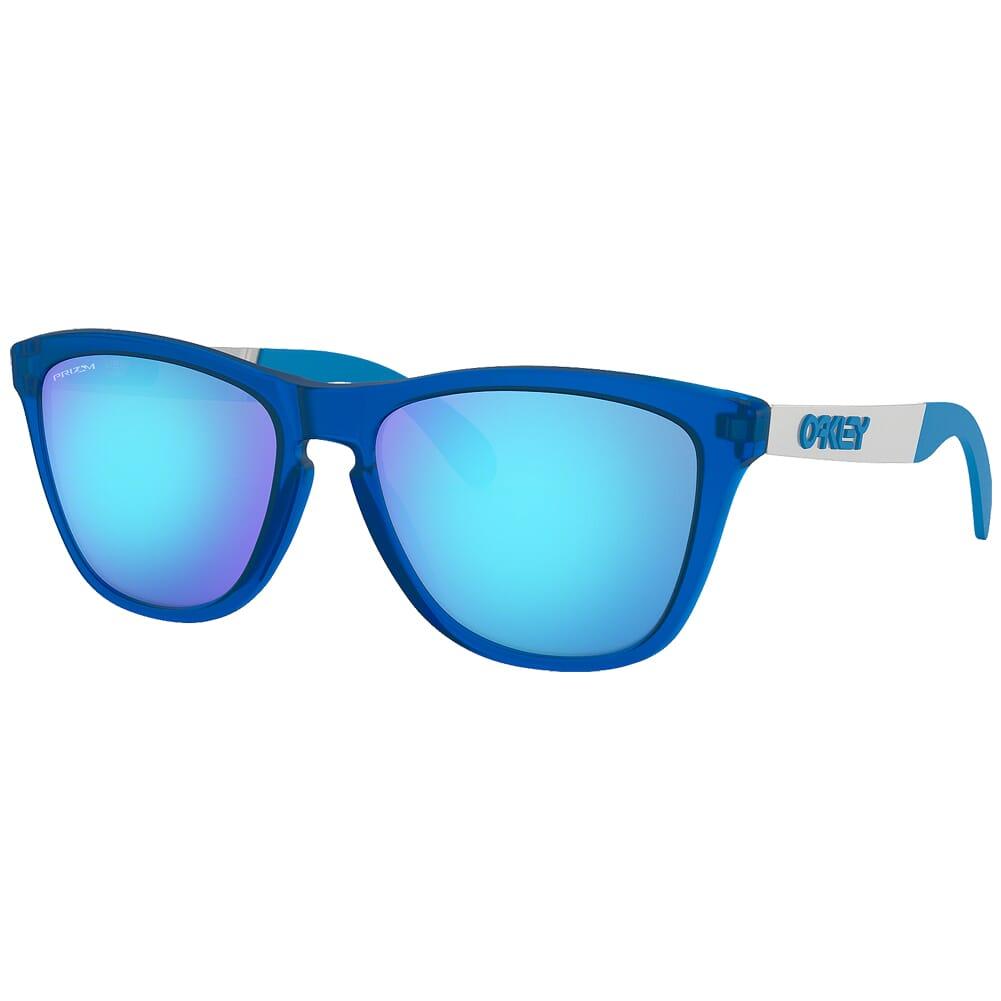 Oakley Frogskins Mix Matte Transluscent Sapphire w/PRIZM Sapphire Lenses OO9428-0355