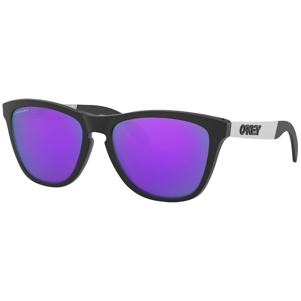 Oakley Frogskins Mix Matte Black w/PRIZM Violet Lenses OO9428-1255