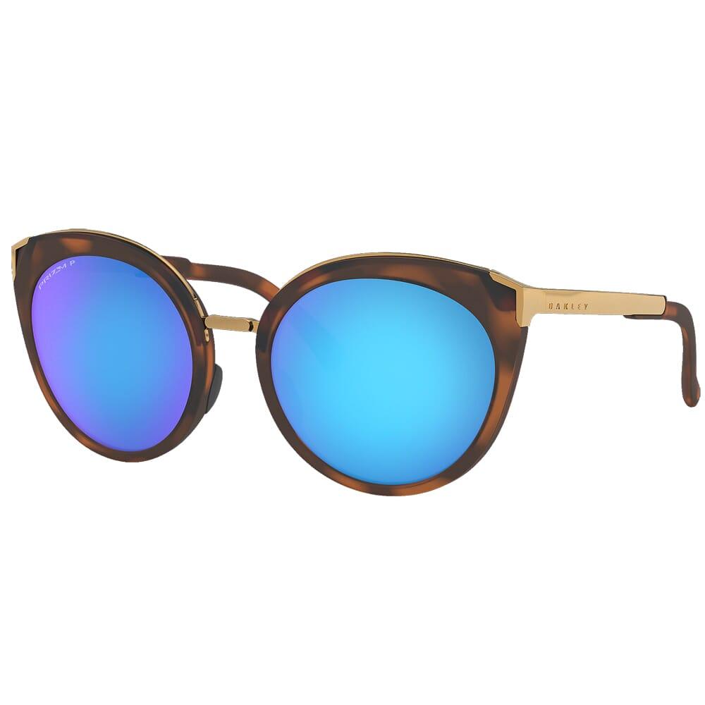 Oakley Top Knot Matte Brown Tortoise w/PRIZM Sapphire Polarized Lenses OO9434-0656