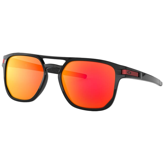 Oakley Latch Beta Polished Black w/PRIZM Ruby Lenses OO9436-0754
