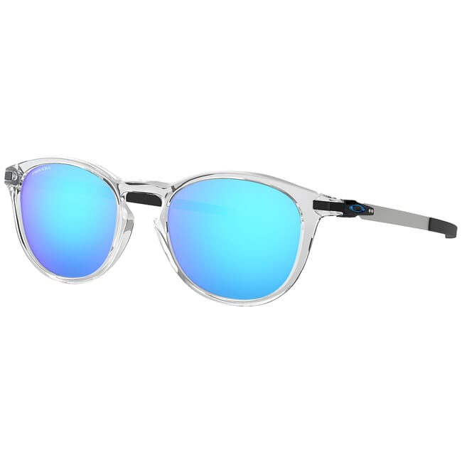 Oakley Pitchman R Polished Clear w/PRIZM Sapphire Lenses OO9439-0450