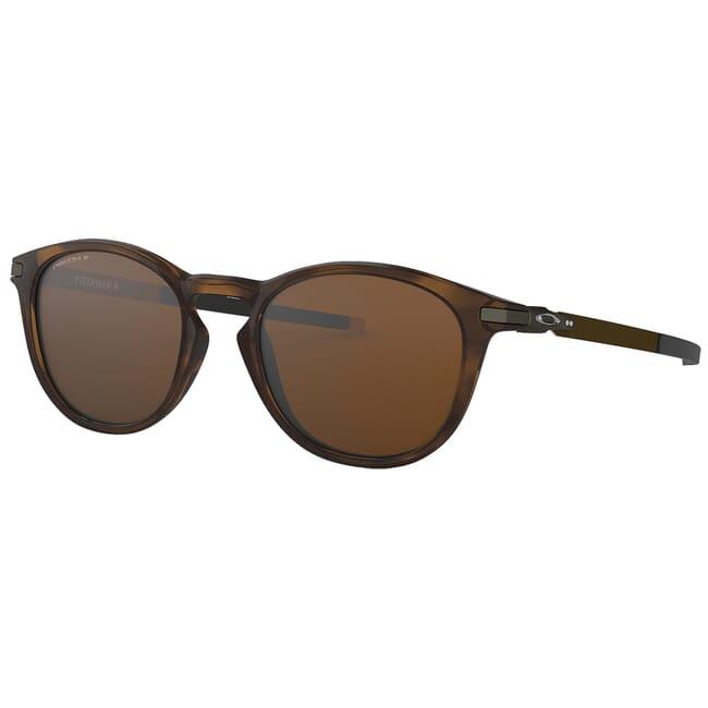 Oakley Pitchman R Polished Brown Tortoise w/PRIZM Tungsten Polarized Lenses OO9439-0650