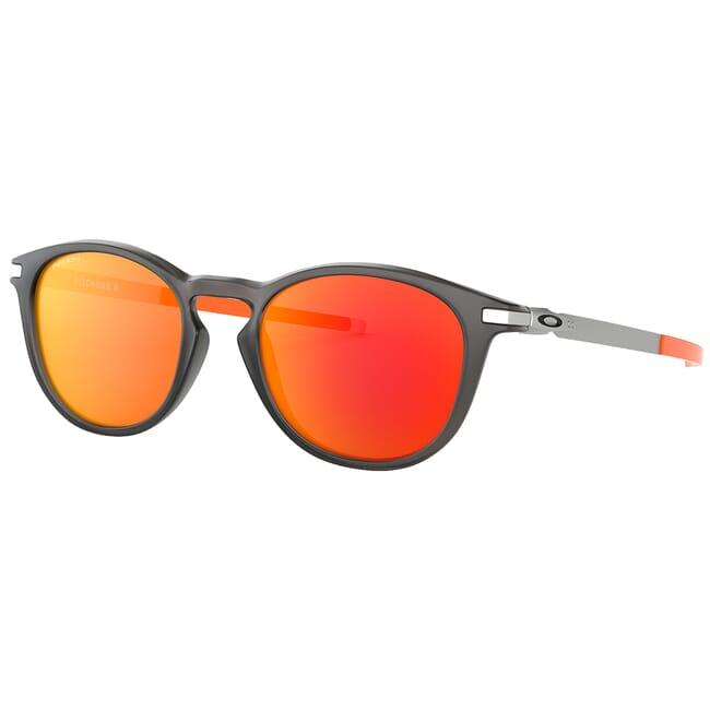 Oakley Pitchman R Matte Grey Smoke w/PRIZM Ruby Lenses OO9439-0750