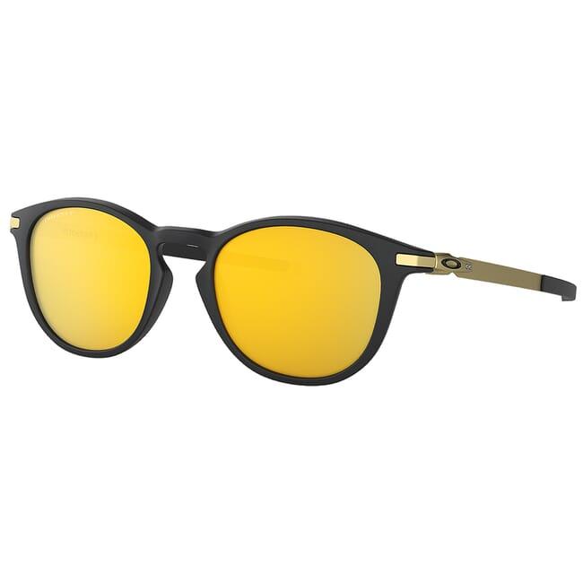Oakley Pitchman R Satin Black/Gold w/PRIZM 24k Polarized Lenses OO9439-0950