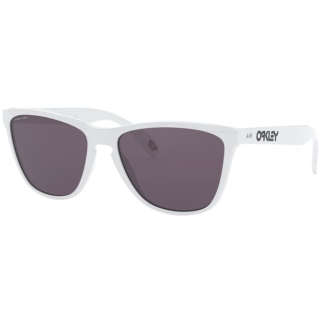 Oakley Frogskins 35th Polished White w/PRIZM Grey Lenses OO9444-0157
