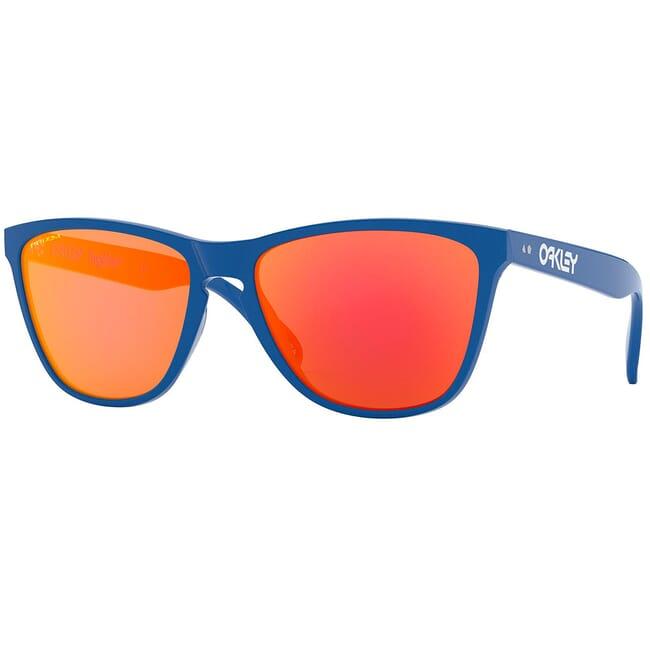 Oakley Frogskins 35th Prim Blue w/PRIZM Ruby Lenses OO9444-0457