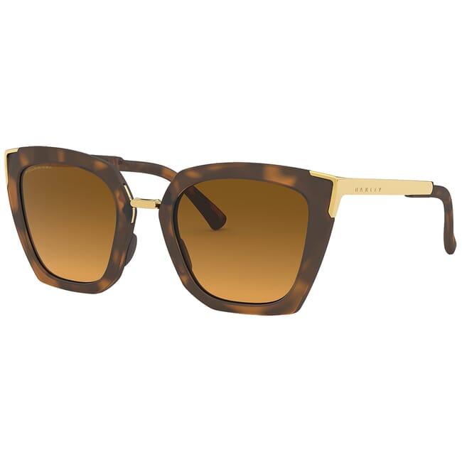 Oakley Sideswept Matte Brown Tortoise w/Brown Gradient Polarized Lenses OO9445-0351