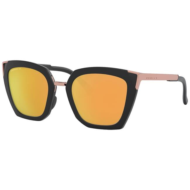 Oakley Sideswept Velvet Black w/PRIZM Rose Gold Polarized Lenses OO9445-0451