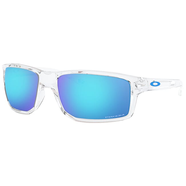 Oakley Gibston Polished Clear w/PRIZM Sapphire Lenses OO9449-0460