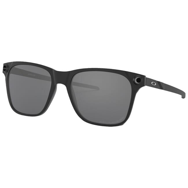 Oakley Apparition Satin Black w/Black Iridium Polarized Lenses OO9451-0555