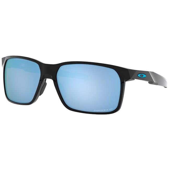 Oakley Portal X Polished Black w/PRIZM Deep Water Polarized Lenses OO9460-0459