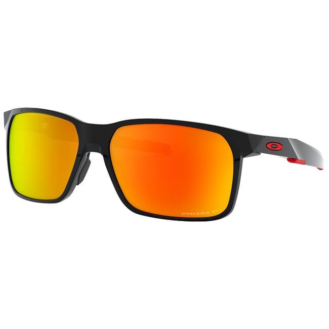 Oakley Portal X Polished Black w/PRIZM Ruby Polarized Lenses OO9460-0559