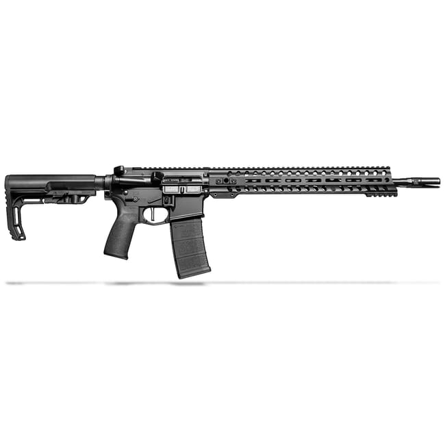 "POF Minuteman 5.56 x 45mm NATO 16.5"" Bbl Black Rifle w/14.5"" Renegade Rail and Mid-Length Lo Pro DI Gas Block 01644"