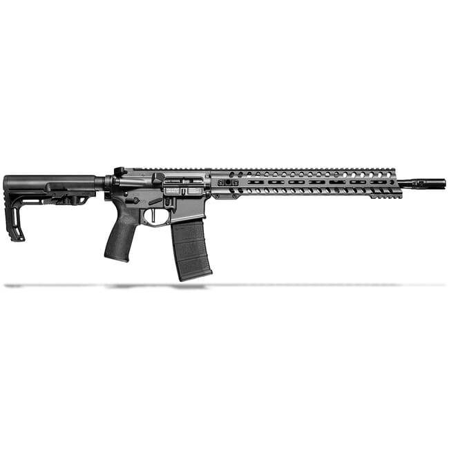 "POF Minuteman 5.56 x 45mm NATO 16.5"" Bbl Tungsten Rifle w/14.5"" Renegade Rail and Mid-Length Lo Pro DI Gas Block 01645"