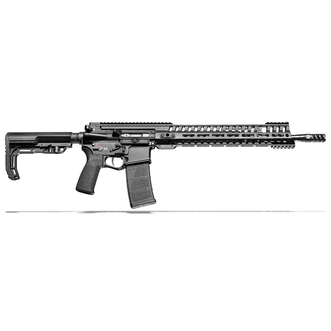 "POF P415 Edge 5.56 x 45mm NATO 16.5"" Bbl Black Rifle w/14.5"" Rail and 5 Position Piston Gas Block 01143"