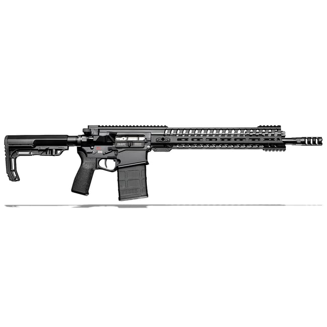"POF Revolution .308 Win 16.5"" Bbl Black Rifle w/14.5"" Rail and Rifle Length Piston System 01235"