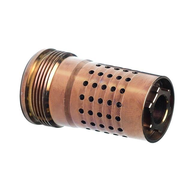 Q Products Cherry Bomb, Muzzle Brake, 1/2-28 Q-CB-1/2-28