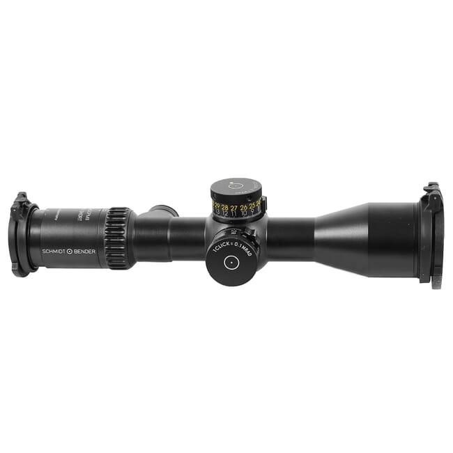 Schmidt Bender PM II 5-20x50 Ultra Short DT II+ MTC LT/ST MSR .1 mrad CW Riflescope 673-911-852-M2-I5