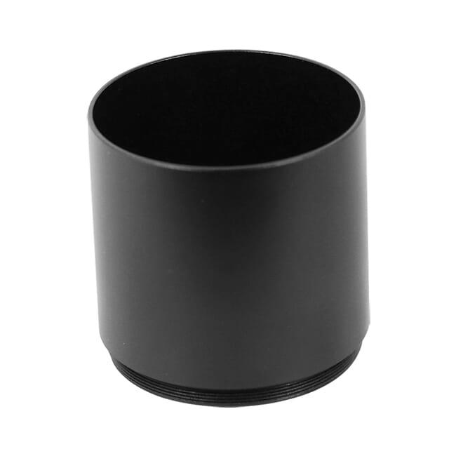 Schmidt Bender 50mm Black Aluminum Sun Shade 971-45050  USED UA1804 LIKE NEW BUT MISSING FRONT THREADS