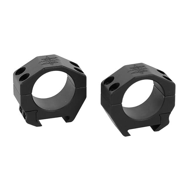 "Seekins 30mm 0.82"" Low scope rings,  4/4 cap screw 0010620002 USED UA1865"