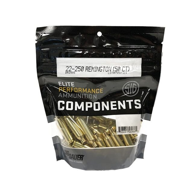 Sig Sauer Component Brass 22-250 Rem (50 ct) BR2005
