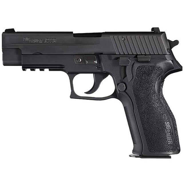 """Sig Sauer P226 9mm 4.4""""  DA/SA Black (2) 15rd Mag E26R-9-B"""