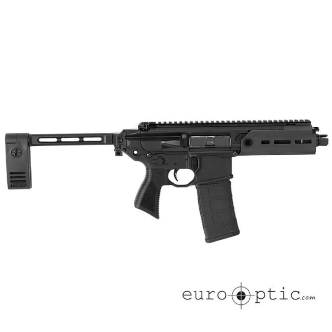 Sig Sauer SIG MCX, 5.56 Nato, Pistol, Semi, 5.5in Bbl, Pcb, Al MLOK Hg, (1) 30 Rd Mag, Rattler Pistol PMCX-5B-TAP