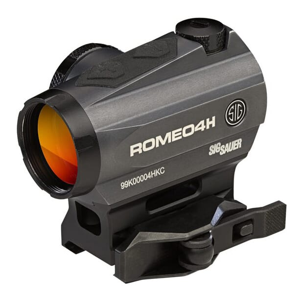 Sig Sauer Romeo4H 1x20 2 MOA Circle Plex Red Dot Sight SOR43012