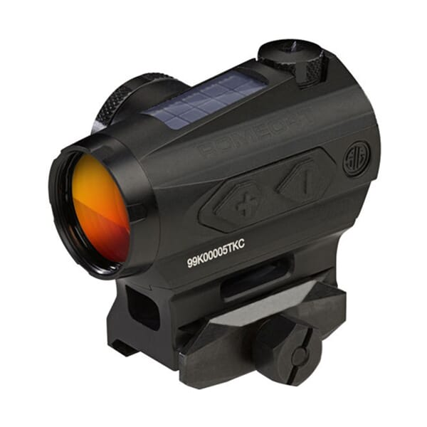 Sig Sauer Romeo 4 Red Dot Sight 1x20 2 MOA Circle Plex Hex