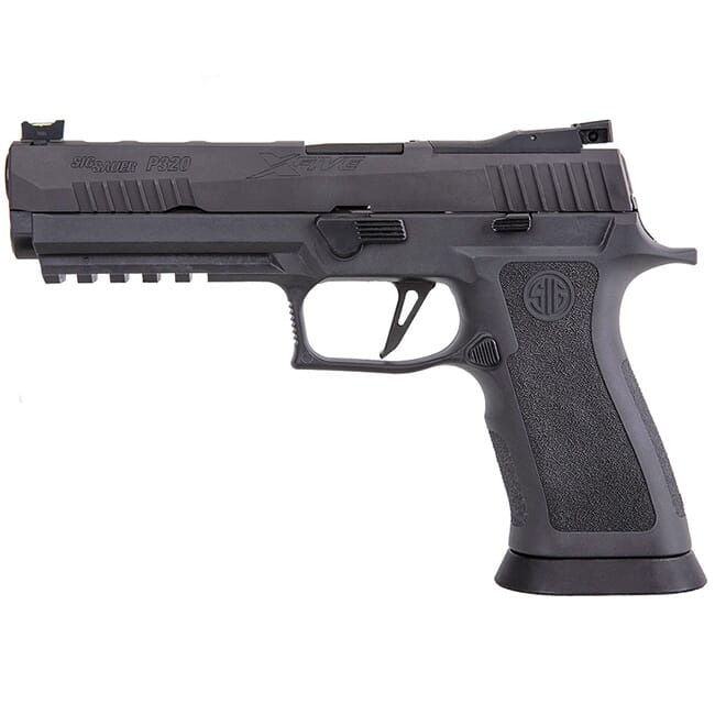 "Sig Sauer P320 XFIVE, 9mm, 5"", Legion, Striker, Optics Ready Pistol w/ (3) 10rd Steel Mag 320X5-9-LEGION-R2-10"
