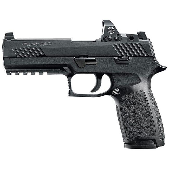 """Sig Sauer P320 9mm 4.7"""" RX Black Striker Tall Contrast  17rd 320F-9-B-RX"""