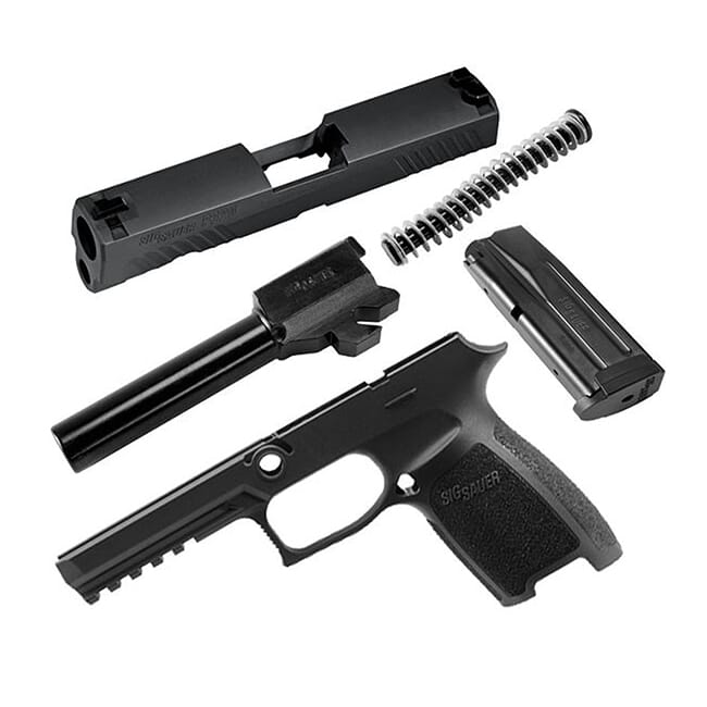 Sig Sauer P320 9mm 10rd Full Size Black Caliber X-Change Kit CLAX-320F-9-BSS-10