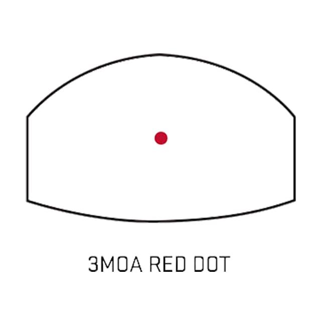 Sig Sauer Romeo1 1x22mm 3 MOA Red Dot Reflex Sight Multiple Handgun  Mounting Kit SOR11005