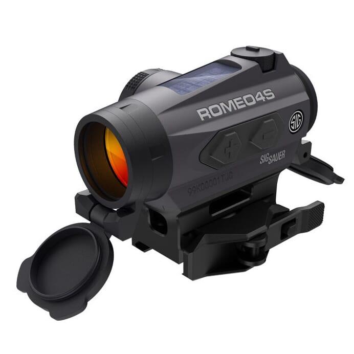 Sig Sauer Romeo4S 1x20 2 MOA Circle Dot Red Dot Sight SOR43021