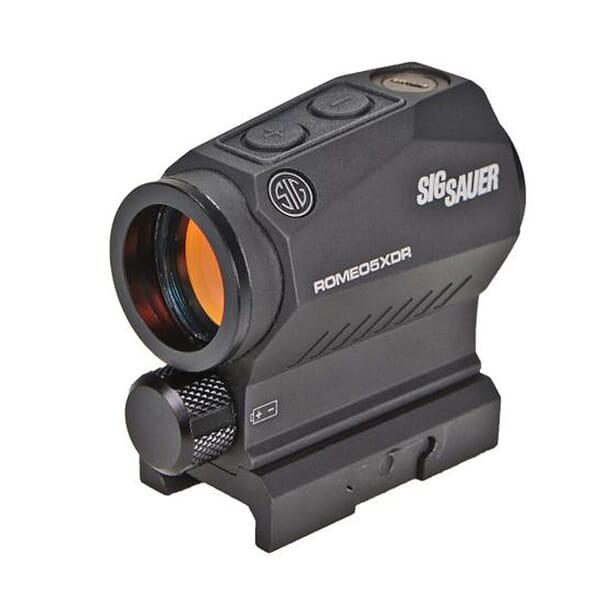 Sig Sauer ROMEO5 XDR Predator Compact Green Dot Sight, 1x20mm, 0.5 MOA Adj, Aaa, M1913, Black SOR52122