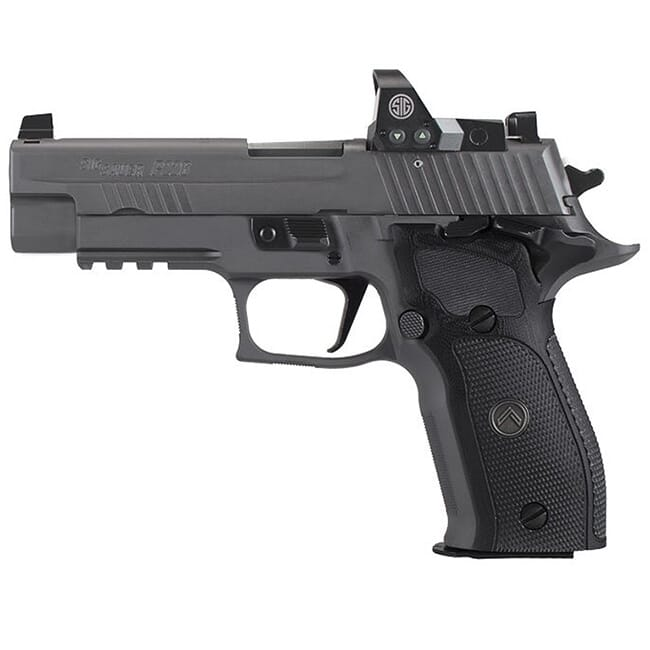 "Sig Sauer P226 9mm 4.4"" Legion Gray SAO G10 Grip 15rd E26R-9-LEGION-SAO-RX"