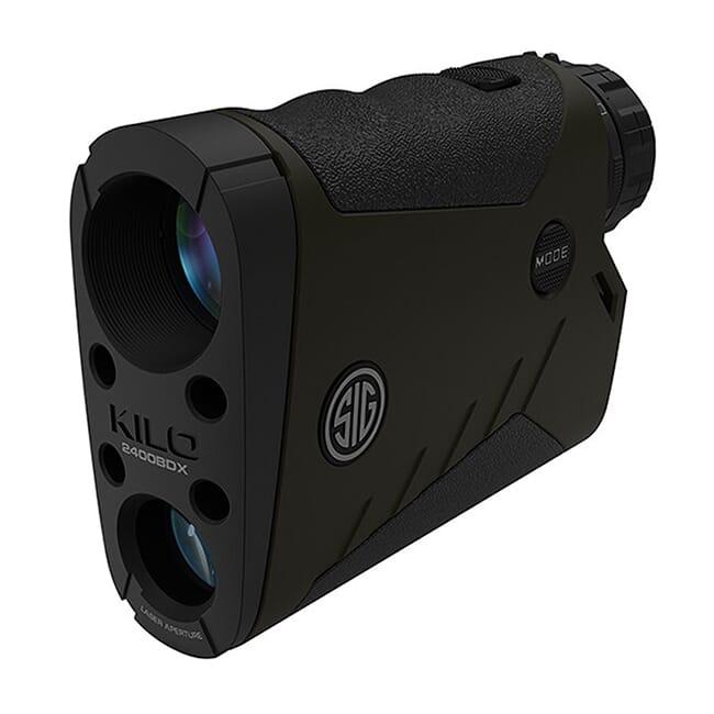 SIG Sauer Kilo2400BDX Laser Range Finding Monocular, 7x25mm SOK24704