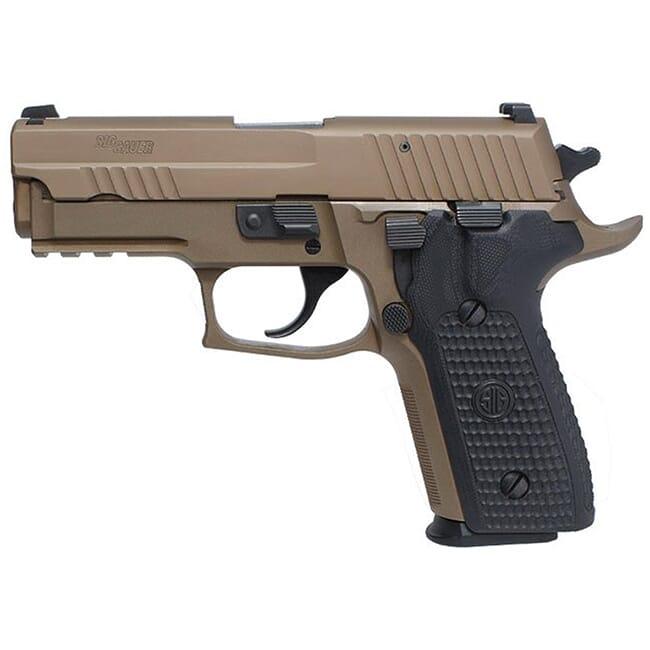 """Sig Sauer P229 9mm 3.9"""" Emperor Scorpion FDE DA/SA (2) 15rd Mag Handgun E29R-9-ESCPN"""