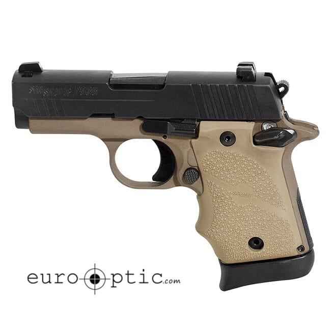 Sig Sauer P938 Micro 9mm 2-Tone 7 RD Steel Magazine