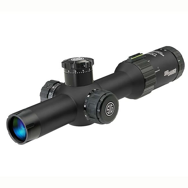 Sig Sauer Tango4 1-4x24 30mm Illum Horseshoe Dot Black Scope SOT41101