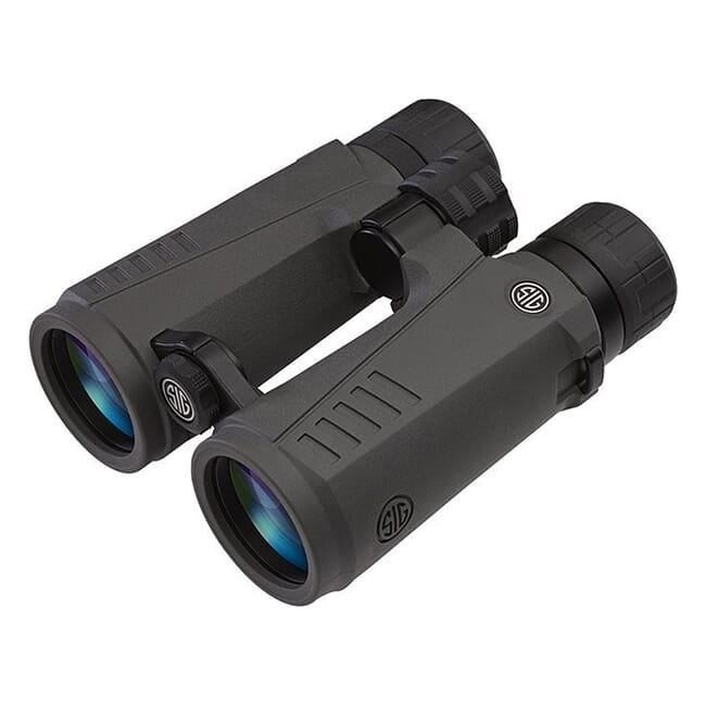 Sig Sauer ZULU7 Binocular 12X50mm HDX Lens Graphite SOZ71201
