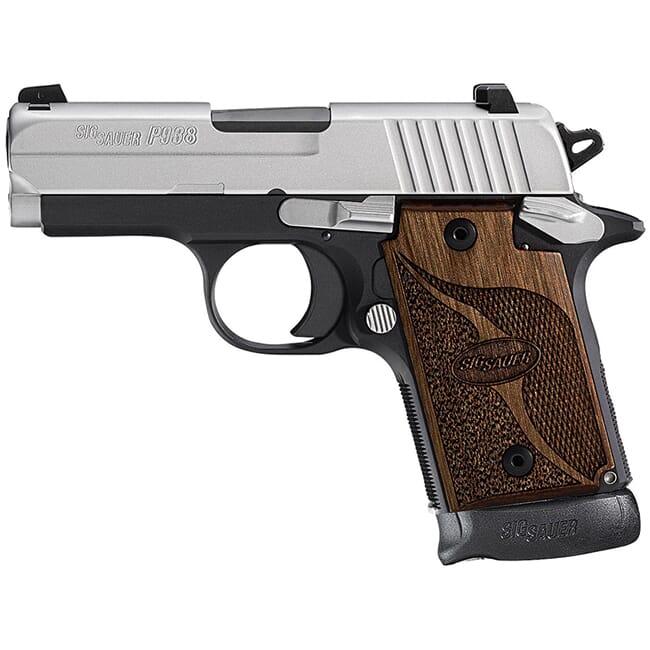 Sig Sauer P938 SAS 9mm Pistol 938-9-SAS-AMBI