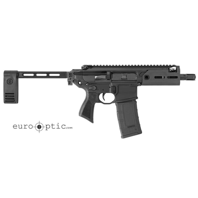 Sig Sauer SIG MCX, 300 Blk, Pistol, Semi, 5.5in Bbl, Pcb, Al MLOK Hg, (1) 30 Rd Mag, Rattler Pistol PMCX-300B-5B-TAP