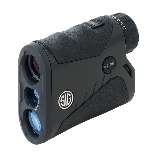 Sig Sauer KILO1200 Laser Rangefinding Monocular 4x20mm HT LCD Black Class 3R SOK12401