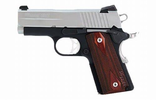 Sig Sauer Ultra 9mm 2-Tone 1911UT-9-TSS