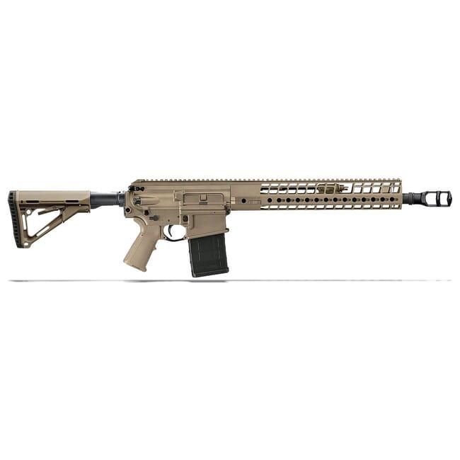Sig Sauer SIG716G2 DMR 6.5 Creedmoor Rifle 18in Semi-Auto FDE (1) 20 Round Mag R716G2-H18B-65-DMR-FDE