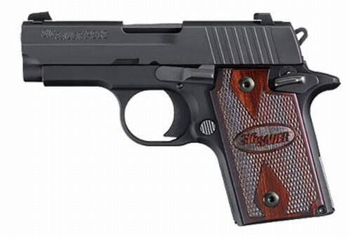 Sig Sauer P938 Rosewood 9mm Pistol 938-9-RG-AMBI