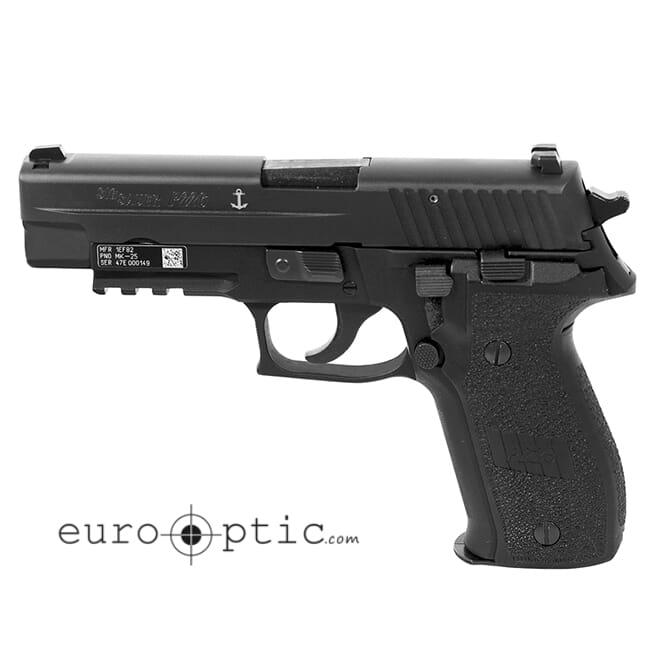 """Sig Sauer P226 9mm DA/SA 4.4"""" (3) 15 round Mag MK-25"""