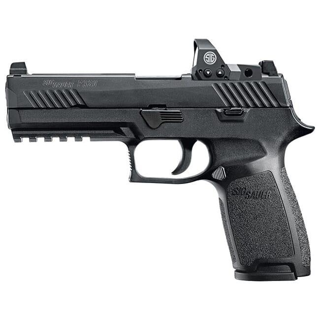 Sig Sauer P320 RX 9mm Pistol 320F-9-BSS-RX